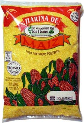 Harina de Maiz 'La Esq. De Las Flores' 500g