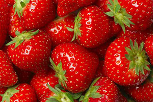 fresas con mucho liquido, frutas con agua