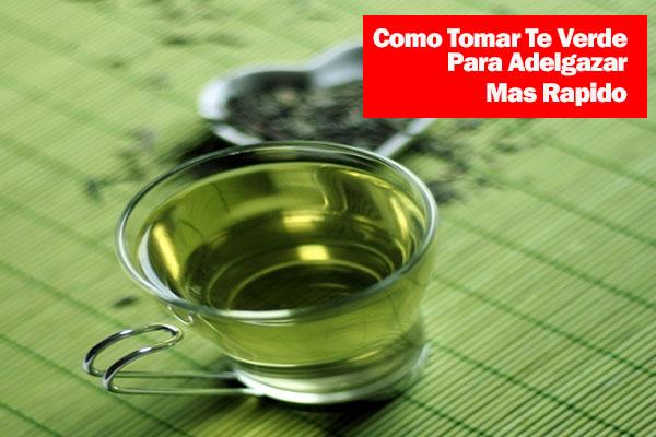 té verde para adelgazar