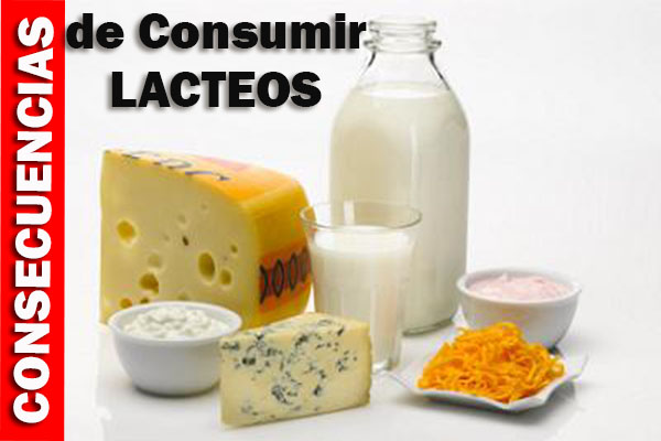 consecuencias de consumir lacteos