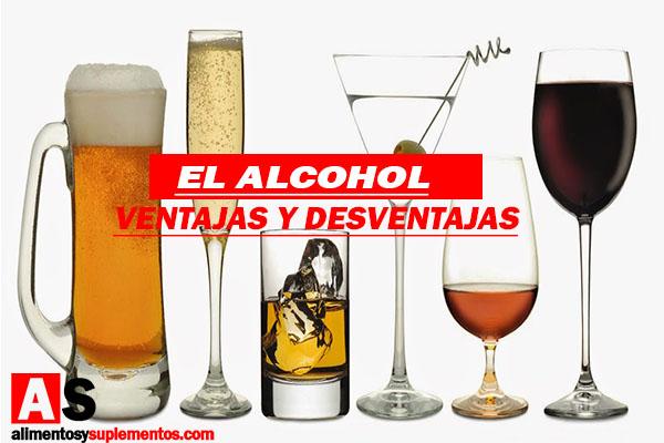 ventajas y desventajas del alcohol