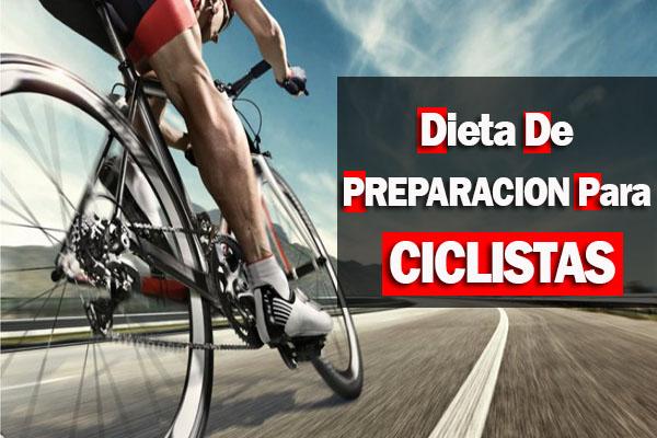 dieta de preparacion para ciclistas