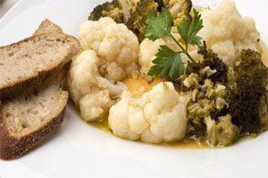 Brócoli y Coliflor en escabeche