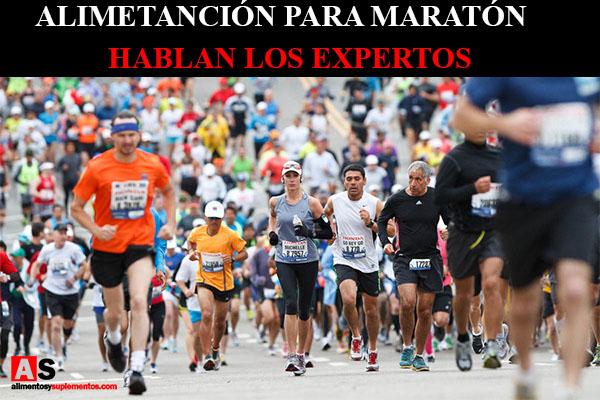 Alimentacion para maraton