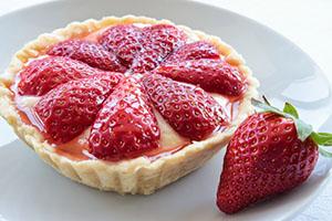 Tartaletas de fresas y crema