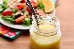aderezo de limon y miel