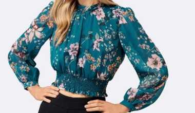 Ofis Stiline Uygun 12 Uzun Kollu Bluz Modeli