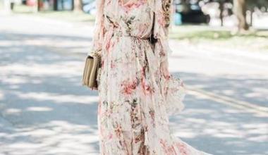 2019 Şifon Elbise Modelleri