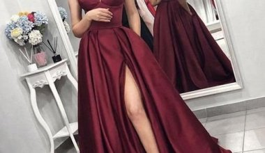 2019 Yırtmaçlı Abiye Elbise Modelleri