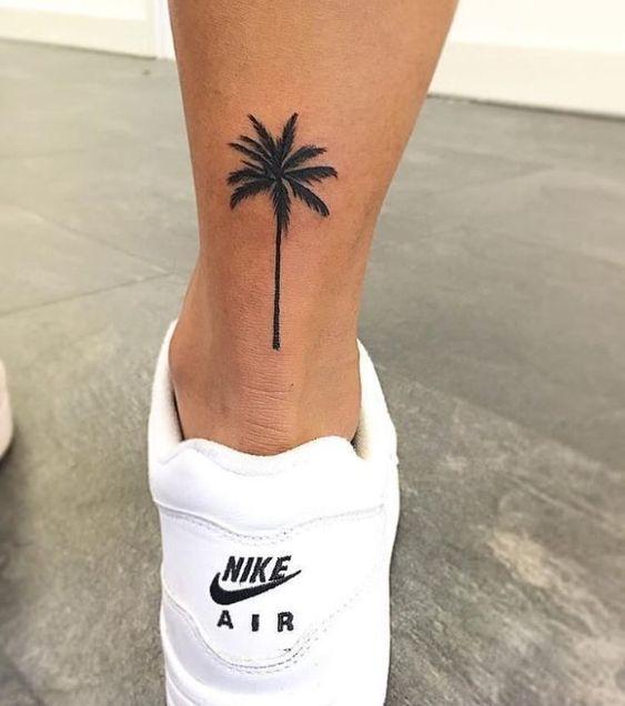 ayak bileği için dövme modelleri