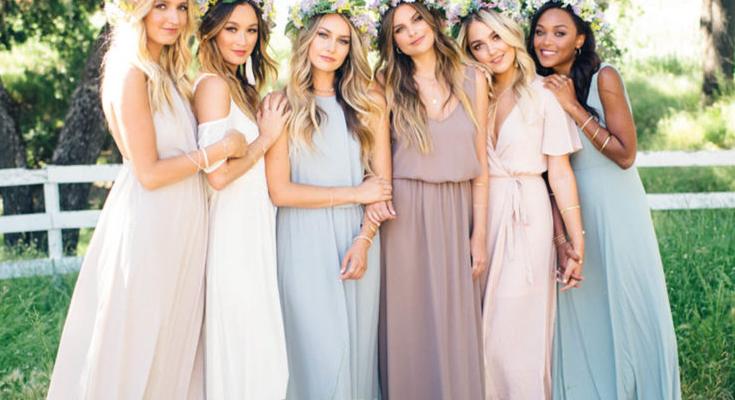 Kır Düğünü Elbise Modelleri 2019