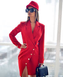 2020 En Şık Ceket Elbise Modelleri