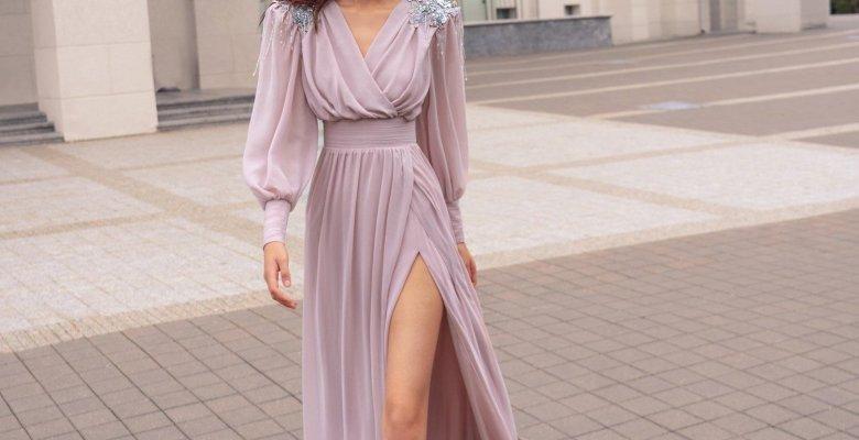 2021 Uzun Kollu Abiye Elbise Modelleri