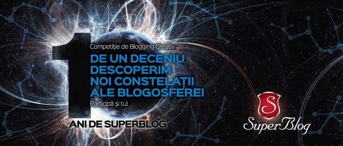 SuperBlog, o competiție de blogging creativ