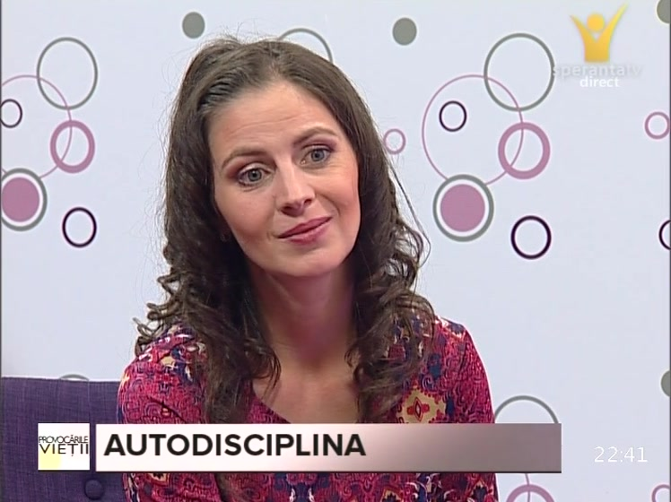 "In direct la emisiunea ,,Provocarile vietii"" din 05 noiembrie 2014 la Speranta TV"