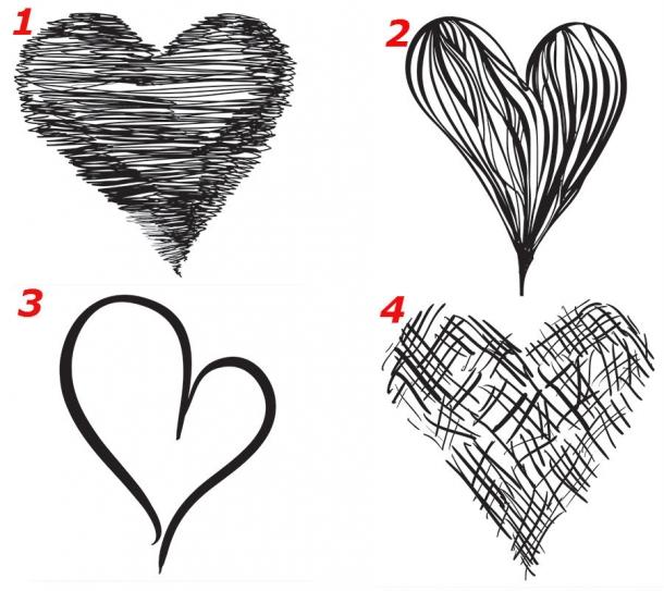 Testul INIMII: Modul in care o desenezi te da de gol