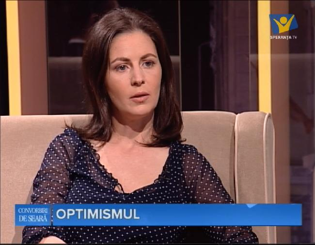 Emisiunea Convorbiri de seara la Speranta TV: Optimismul – 10.04.2016