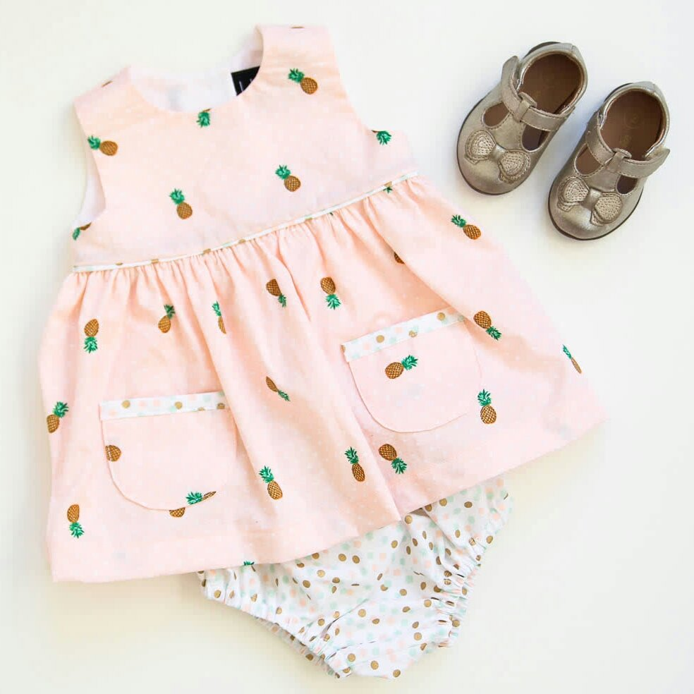 Pineapple Geranium Dress