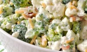 Salată de conopidă şi morcovi