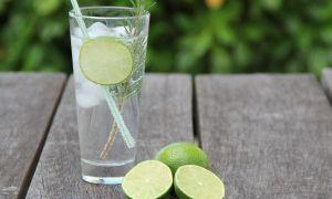 apa tonica cu lime