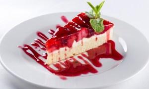cheesecake cu jeleu de capsune