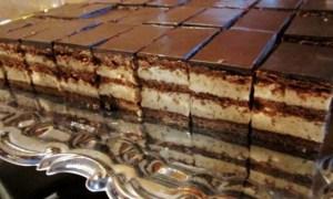 Prăjitură cu castane şi ciocolată