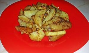 Cartofi la cuptor cu mirodenii