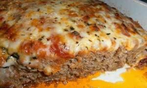 Lasagna cu carne de vită