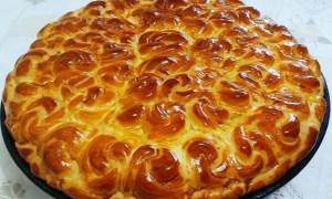 Pâine dulce împletită