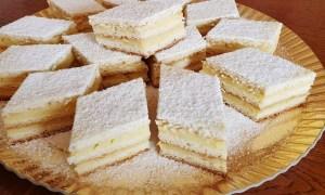Prăjitură Delicia cu vanilie
