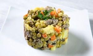 Salată boeuf fără maioneză