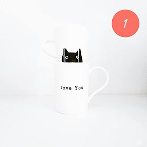 Un joli mug pour se réchauffer avec un bon thé/chocolat chaud