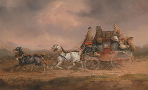 800px-Charles_Cooper_Henderson_-_Mail_Coaches_on_the_Road-_the_Louth-London_Royal_Mail_progressing_at_Speed_-_Google_Art_Project