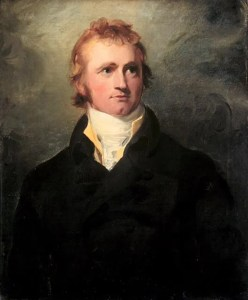 A portrait of Alexander MacKenzie by Thomas Lawrence depicts him looking off to his left.