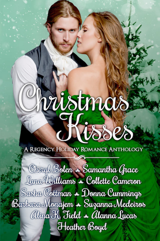 Book Cover: Christmas Kisses: A Regency Holiday Romance Anthology