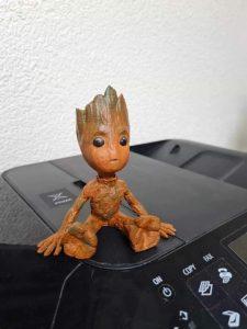 model 3D Groot finalizat