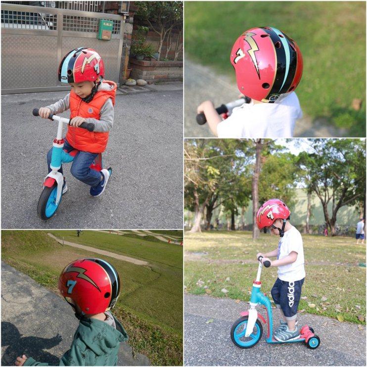 【育兒】滑步、滑板一次滿足!!Scoot&Ride滑步滑板平衡車+Nutcase安全帽