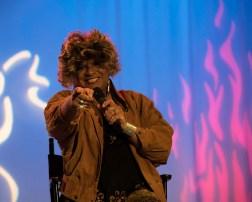 Ron B performing. No Boundaries show at MNN. Photo by Alina Oswald.