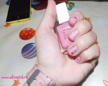 NOTD – Stars & pink #2