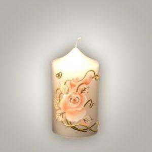 lumanare-cilindru-nunta-12-cm-cu-trandafiri
