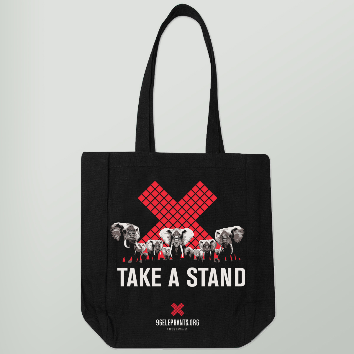Take a Stand for Elephants Tote