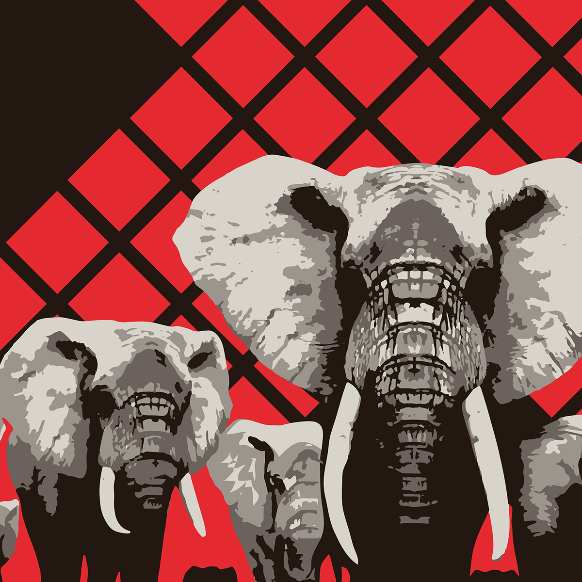 Take a Stand for Elephants Art Detail