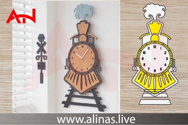 Read more about the article Wall Clock free vector files for laser cutting