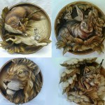 20 pieces 3D Animals Hunting STL format