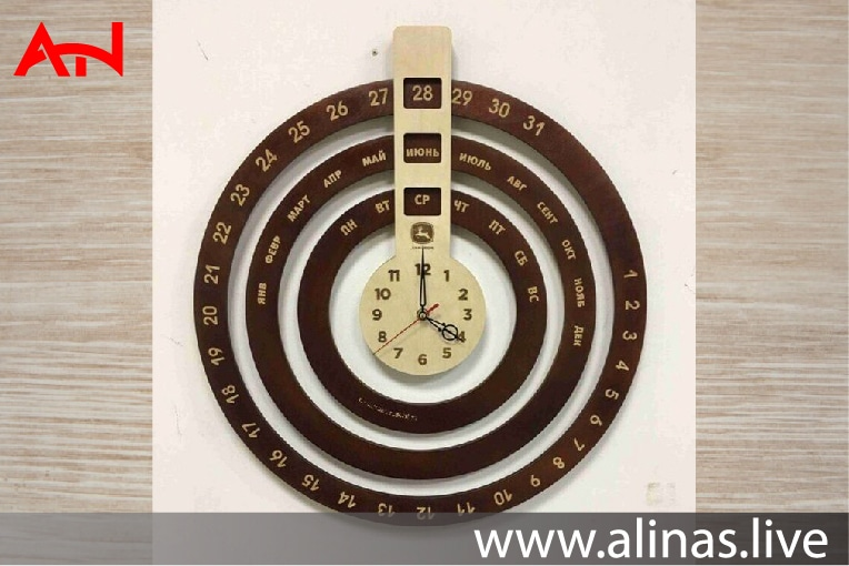 Read more about the article infinite calendar wall clock