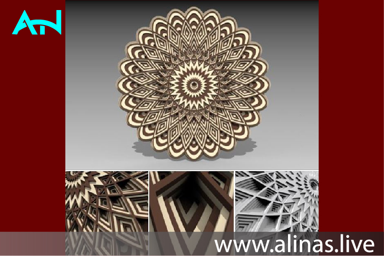 Read more about the article 3d layered mandala
