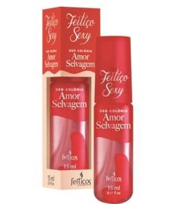 Perfume Afrodisíaco Feitiço Sexy Amor Selvagem