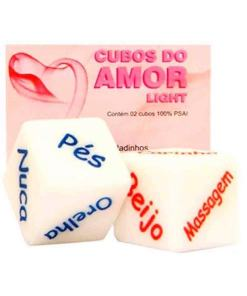 Dado cubo do amor Light