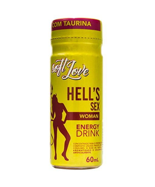 Energético Hell´s Sex woman