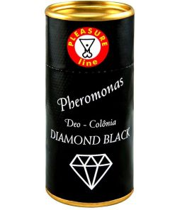 Diamond Black - Deo Colônia Feminino 20ml Pleasure Line